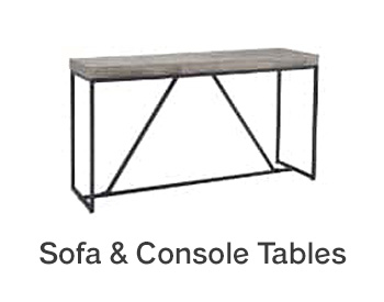 Sofa & Console Tables